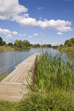 озеро рыболовства Стоковая Фотография RF