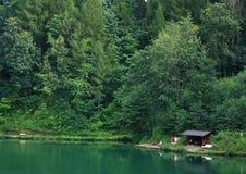 озеро рыболовства стоковое фото rf