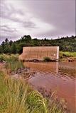 Озеро рыс, район ренджера Bradshaw, национальный лес Prescott, положение Аризоны, Соединенных Штатов Стоковые Фотографии RF