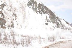 Озеро ряд Аляски Стоковое Фото