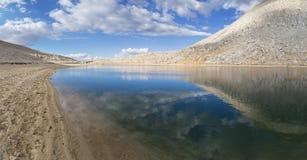 Озеро саммит Стоковые Фотографии RF