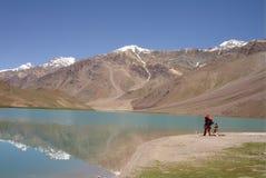 озеро сверкная стоковая фотография rf