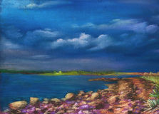 озеро свободного полета Стоковые Фотографии RF