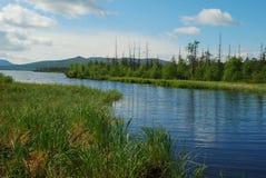 озеро свободного полета Стоковая Фотография