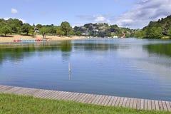 Озеро Святого-Pée-sur-Nivelle в Франции стоковое изображение rf