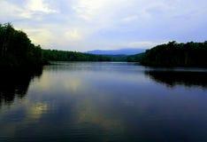 Озеро Северная Каролина цен Стоковая Фотография RF