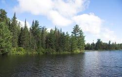 озеро северное Стоковая Фотография