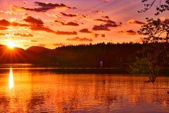 Озеро сиг, Монтана стоковое фото