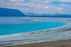 Озеро сини бирюзы Стоковое Изображение