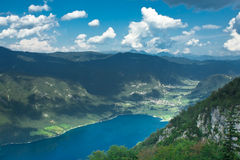 озеро Словения bohnij Стоковое фото RF