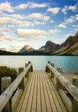 озеро смычка alberta Стоковое Изображение RF