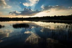Озеро соединени Стоковая Фотография