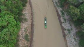 Озеро сок Tonle (Камбоджа) видеоматериал