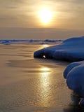 озеро солнечное Стоковые Фотографии RF
