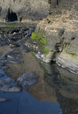 Озеро солен Стоковые Фотографии RF