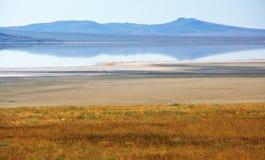 Озеро соли Koyashskoye Стоковые Фотографии RF