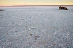 Озеро сол на восходе солнца Стоковая Фотография