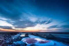 Озеро сол Стоковое Изображение RF