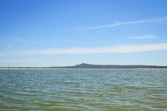 Озеро сол Baskunchak, Россия стоковые изображения rf