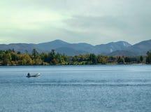 Озеро спокойное, New York стоковые фотографии rf