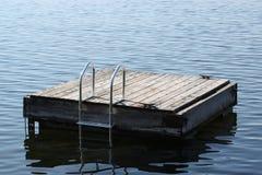 озеро стыковки Стоковое фото RF
