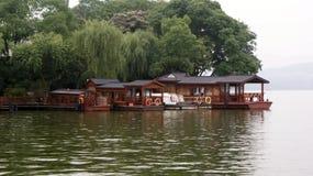 Озеро Сучжоу Стоковое Изображение RF