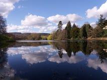 Озеро суд Wiltley Стоковое Изображение RF