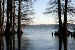 озеро сценарное Стоковое Изображение RF