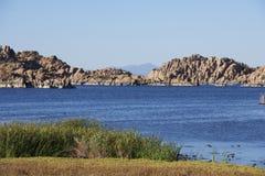 озеро сценарный watson Стоковая Фотография