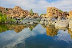 озеро сценарный watson Стоковое Изображение RF