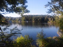 Озеро с валами Стоковая Фотография RF