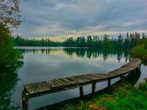 Озеро, Словения Стоковое Изображение RF