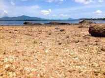 Озеро с открытым морем Стоковое фото RF