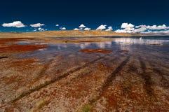 озеро Тибет Стоковые Фотографии RF