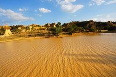 озеро тинное Стоковое фото RF