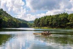 Озеро угрызени-ung в Таиланде стоковая фотография