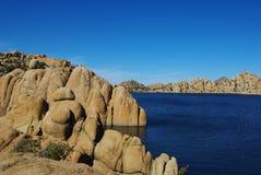 Озеро Уотсон около Prescott, Аризона Стоковые Изображения
