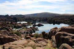 Озеро Уотсон, Prescott, Аризона Стоковые Фотографии RF