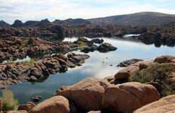 Озеро Уотсон, Prescott, Аризона Стоковая Фотография