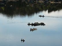 Озеро Уотсон, Prescott, Аризона Стоковые Фото