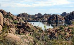 Озеро Уотсон, Prescott, Аризона Стоковые Изображения