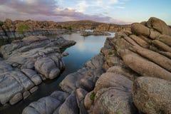 Озеро Уотсон, Prescott, AZ Стоковые Изображения