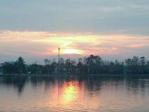 Озеро утр Стоковые Изображения