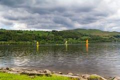 Озеро Уэльс Bala Стоковые Изображения RF