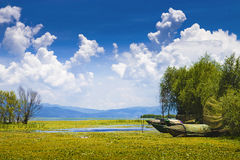 озеро фарфора Стоковые Изображения RF