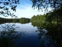 озеро Финляндии Стоковая Фотография RF