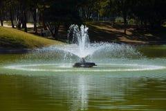 озеро фонтана Стоковые Фото
