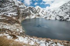 Озеро Херрис новый след zealand routeburn Стоковая Фотография