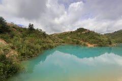 Озеро цвета Qicaichi 7, саман rgb Стоковое Фото