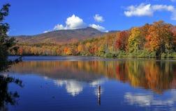 Озеро цен, голубой бульвар Риджа, Северная Каролина стоковое изображение rf